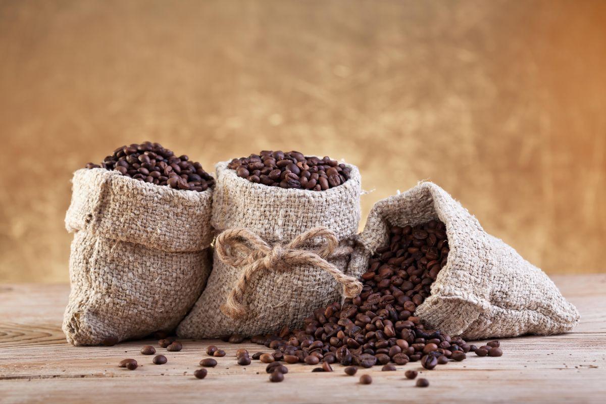 Maseczka kawowa