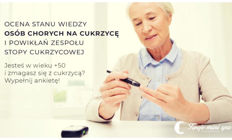 Photo of Ocena stanu wiedzy osób chorych na cukrzycę i powikłań Zespołu Stopy Cukrzycowej